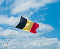Belgian flag Royalty Free Stock Photo