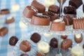 Belgian pralines chocolate Royalty Free Stock Photo
