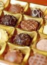 Belgian Pralines Royalty Free Stock Photo
