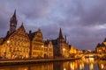 Belgium. Gent. Royalty Free Stock Photo