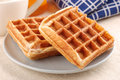 Belgium waffles Royalty Free Stock Images