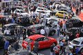 Belgrade car show serbia march international and motopassion on fair Stock Photos