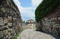 Belgrade fortress walls from the roman period Stock Photography