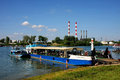 Belgrade regatta fourth regata held on sava river serbia Royalty Free Stock Images