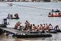 Belgrade regatta regata held on sava river serbia august Stock Images