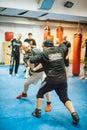 Guro Roger Agbulos Lameco Astig Combative FMA Seminar Belgrade Royalty Free Stock Photo