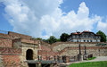 Belgrade singidunum fortress from the roman period Stock Photography