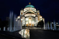 Belgrade tample Stock Images