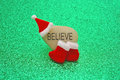 Believe in Santa Claus Concept Image Royalty Free Stock Photo