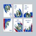 Belize Patriotic Cards for National Day.