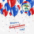 Belize Vector Patriotic Poster. Independence Day.