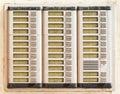 Bell button Stock Photos