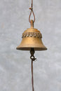 Bell decoration and texture object Royalty Free Stock Photos