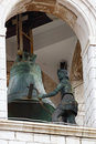 Bell in Dubrovnik Royalty Free Stock Photography