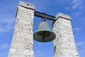 Bell from notre dame de paris now situated in chersonese sevastopol Stock Images