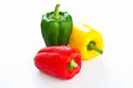 Bell pepper or Sweet pepper Royalty Free Stock Photos