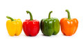 Bell pepper with white background Stock Photos