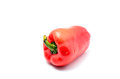 Bell peppers red isolated on white background Stock Image