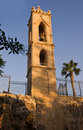 Bell tower in Agia Napa Medieval Monastery Royalty Free Stock Photography