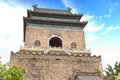 The bell tower in beijing china Royalty Free Stock Photography