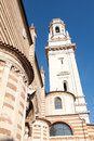 Bell tower, cathedral, Verona Royalty Free Stock Photo