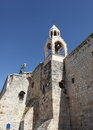 Bell Tower, Church of the Nativity, Bethlehem Royalty Free Stock Photo