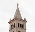 Bell tower of the church of st anthony anthony of padua pula croatia Royalty Free Stock Photography