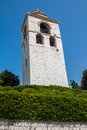 Bell tower dome ancona Royalty Free Stock Photos