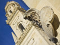 BELL TOWER, LECCE CATHEDRAL, ITALY Stock Image