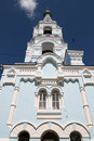 Bell tower in Maloyaroslavets Stock Image