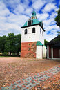 Bell tower in Porvoo, Finland Royalty Free Stock Images