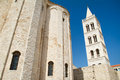 Bell tower of the Saint Domnius Cathedral in Split Stock Photography