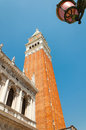 The bell tower of San Marco Stock Photo