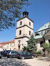 Bell tower, Sandomierz, Poland Stock Photography