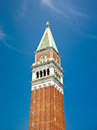 Bell tower of st mark s basilica st mark s campanile venice italy Royalty Free Stock Image