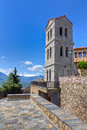 Bell tower of Varlaam monastery, Meteora, Greece Royalty Free Stock Image