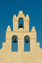 Bell towers of mission san juan three capistrano in antonio texas Royalty Free Stock Photos