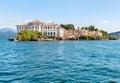 Bella Island or Isola Bella on Maggiore lake, Stresa, Italy Royalty Free Stock Photo