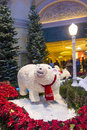 Bellagio hotel conservatory botanical gardens las vegas dec winter season in on december in las vegas there are five seasonal Stock Photo