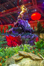 Bellagio hotel conservatory botanical gardens las vegas jan chinese new year in on january in las vegas there are five seasonal Royalty Free Stock Image