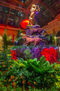 Bellagio hotel conservatory botanical gardens las vegas jan chinese new year in on january in las vegas there are five seasonal Stock Photo