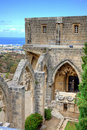 Bellapais Abbey in Cyprus Stock Images