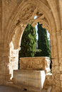 Bellapais abbey near kyrenia northern cyprus Royalty Free Stock Photos