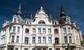 Belle Epoque-wijk in the city of Antwerp, Belgium Royalty Free Stock Photo
