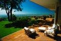 Belle villa rêveuse Photographie stock