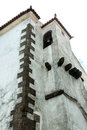 Bellfry belfry of a church in the medieval town of marvao portugal Stock Images
