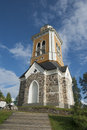 Bellfry of kerimaki church the biggest wooden church in northern europe Royalty Free Stock Photography