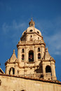 Belltower in Murcia, Spain Stock Image