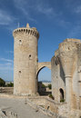 Bellver castle palma of mallorca spain Royalty Free Stock Image