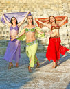 Belly dancers Royalty Free Stock Photography